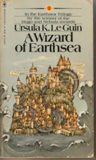 A Wizard of Earthsea classic cover